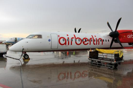 airberlin in Airport Berlin-Tegel
