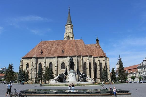 Die Michaelskirche in Cluj Napoca