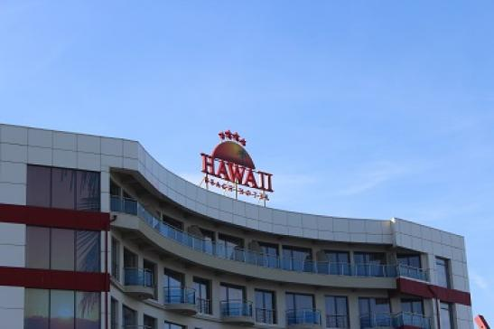 Hotel Hawaii in Mamaia bei Constanta